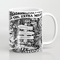boxing Mugs featuring Boxing inspiration by JessicArt