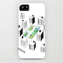 The Vegetable Garden iPhone Case