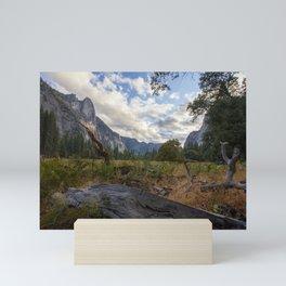 In the Valley. Mini Art Print