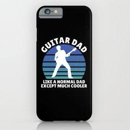 Guitar dad iPhone Case