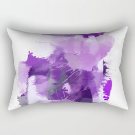Purple Abstract Color Story Rectangular Pillow