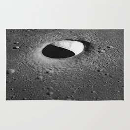 Apollo 10 - Moltke Moon Crater Rug