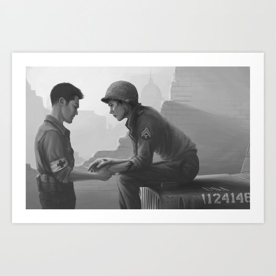 WWII Sterek Art Print