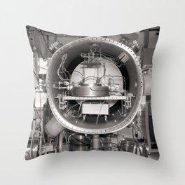 Klystron with Electron Tubes Throw Pillow