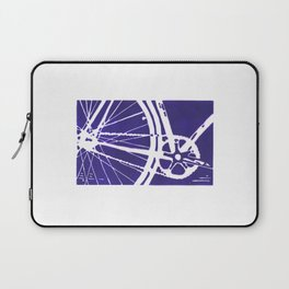 Blue Bike Laptop Sleeve