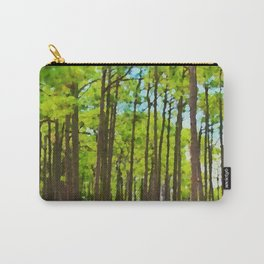 Pine Tree Grove Carry-All Pouch