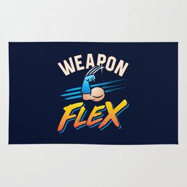 Weapon Flex Rug