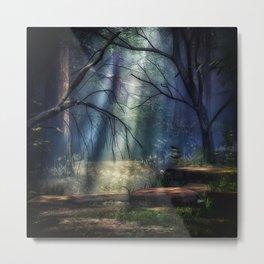 Fantasy Forest 2 Metal Print