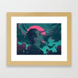 Fylgja Framed Art Print