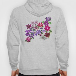 Cascade of Clematis I Hoody