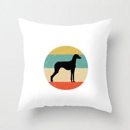 Sloughi Dog Gift design Throw Pillow