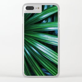 Licuala Palm Clear iPhone Case