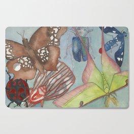 Moths & Beetles Cutting Board