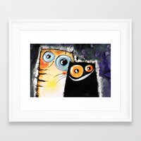friendship Framed Art Prints featuring friendship by Katja Main
