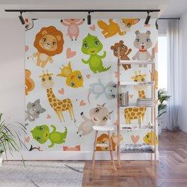 cute baby animals Wall Mural