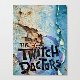 Twitch Doctors Logo Canvas Print