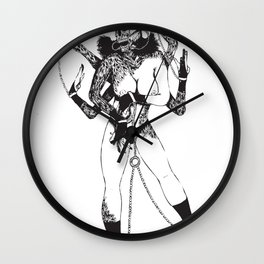 Bondage Burn Victim (Anthony Cooper) Wall Clock