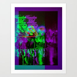 Night Warrior Art Print