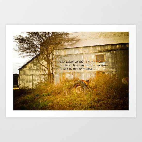 Moment in Time Art Print