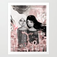 a lease of each other Art Print