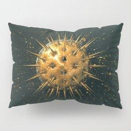 Abstract Dark Sphere Pillow Sham