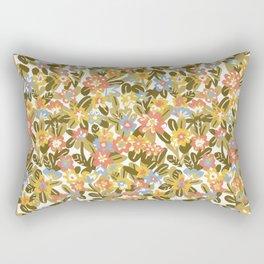 Garden Print Rectangular Pillow