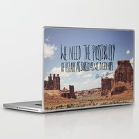 downton abbey Laptop & iPad Skins featuring Abbey // Escape by Leah Flores