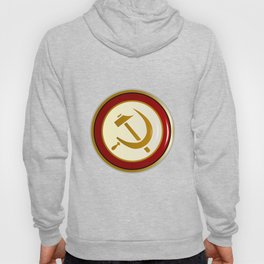 Russian Pin Badge Hoody
