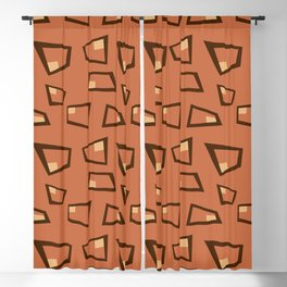 Vintage Abstract Pattern 2 Blackout Curtain