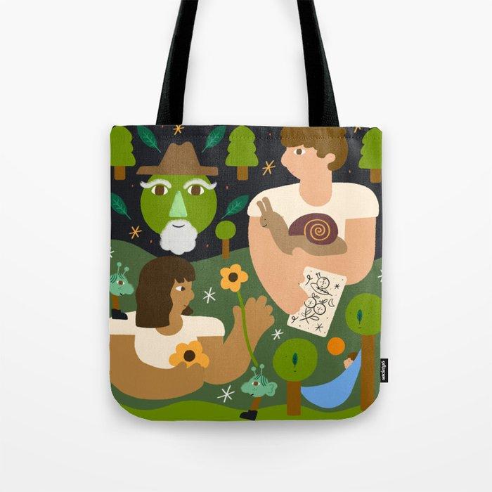 Garden Friends Tote Bag