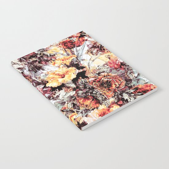 RPE FLORAL ABSTRACT Notebook