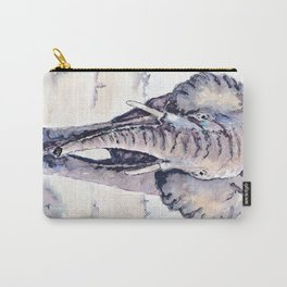Elephant on a mission Carry-All Pouch