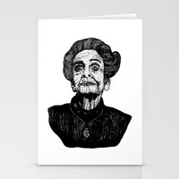 levi Stationery Cards featuring Rita Levi by Julian R Black