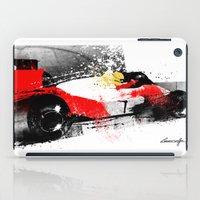 senna iPad Cases featuring AYRTON SENNA MP4-4 by Michele Leonello