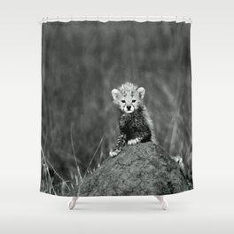 BABY - TIGER - NATURE - LANDSCAPE - ANIMALS Shower Curtain