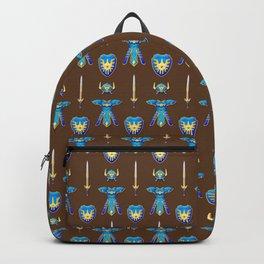 Erdrick's Equipment - Brown Backpack