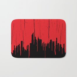 Paint it Red Bath Mat