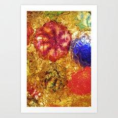 Blown Glass  Art Print