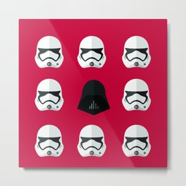 Starmtrooper Metal Print