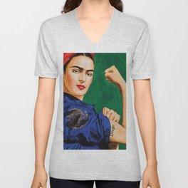 Frida Strong Unisex V-Neck