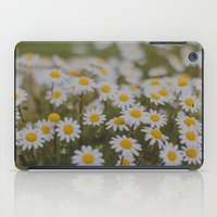 daisies iPad Cases featuring Daisies by Hello Twiggs