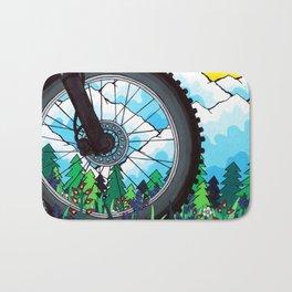 Bike Tire Bath Mat