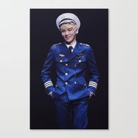 shinee Canvas Prints featuring Key - SHINee by Felicia