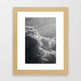 after dark comes LIGHT Framed Art Print