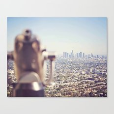 View from the Top, Los Angeles Canvas Print