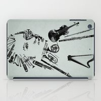 mozart iPad Cases featuring Wolfgang Amadeus Mozart by bananabread