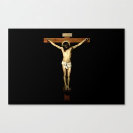 picture of Jesus  III – Velasquez -Christ Crucified 1632 - Canvas Print