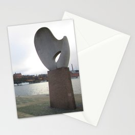 Statue in Stockholm Stationery Cards
