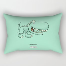 Tyrannotooth Rectangular Pillow