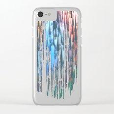 Raining Colors / Autumn 11-10-16 Clear iPhone Case